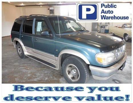 1997 FORD EXPLORER EDDIE BAUER EDITION