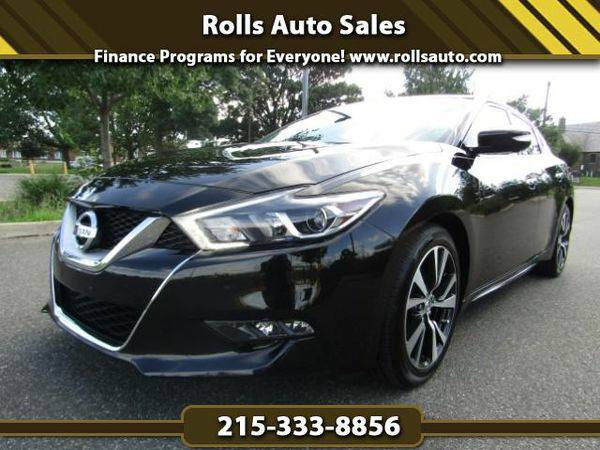 2016 *Nissan* *Maxima* Platinum From $495 Down! EZ Financing