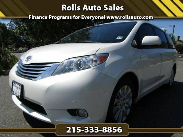 2012 *Toyota* *Sienna* XLE AWD 7-Passenger V6 From $495 Down! EZ...