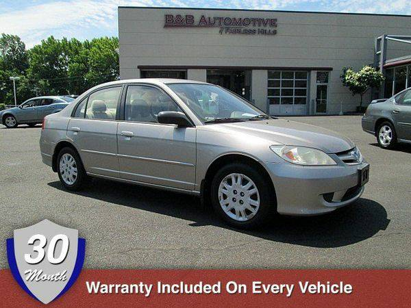 2005 *Honda* *Civic* *Sdn* LX BUY HERE PAY HERE Down Payment --->