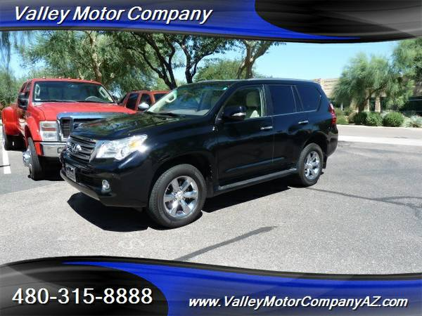 2010 Lexus GX460 4x4 SUV Black Tan leather 77k miles