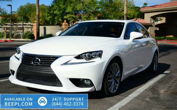 2015 *Lexus* *IS 250* *4dr Sport Sedan AWD* -$30,499