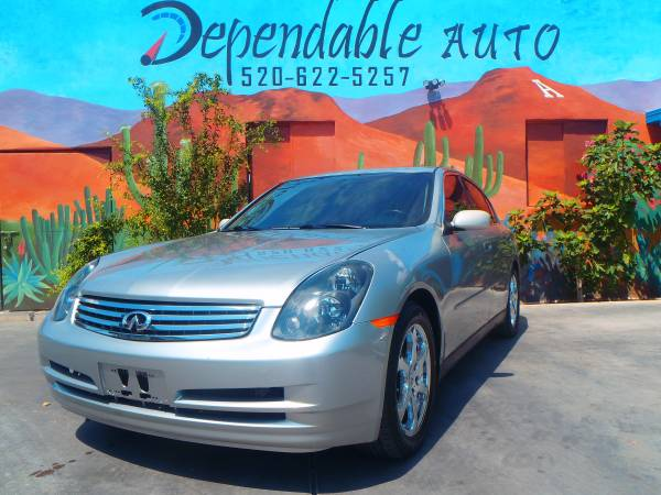 2003 INFINITI G35- $500 DOWN O.A.C - COME IN TODAY FOR AN APPROVAL !!