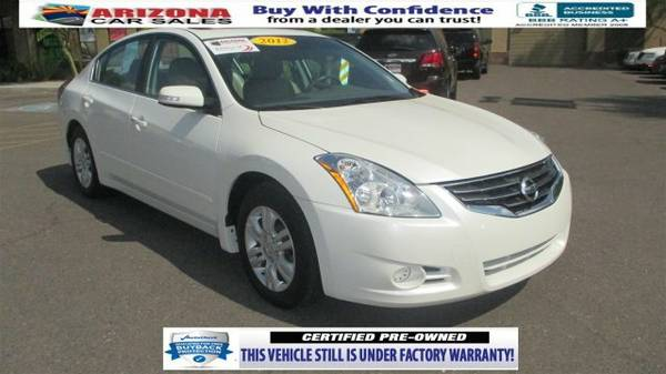 2012 Nissan Altima S 4dr Car