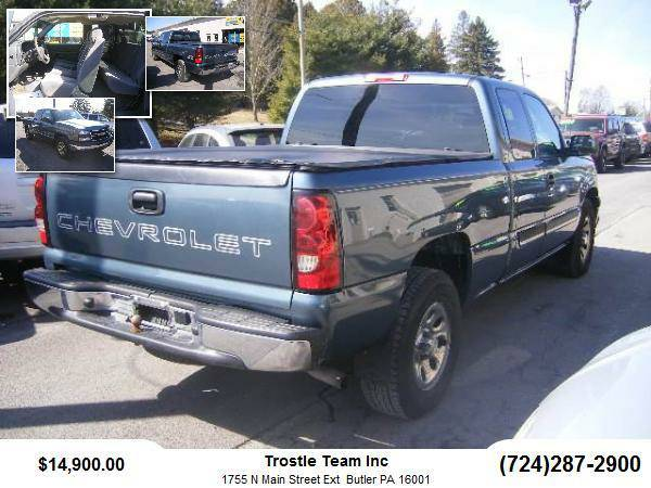 2006 Chevrolet Silverado 1500 Extended Cab Pickup LS Pickup 4D 6 1/2...