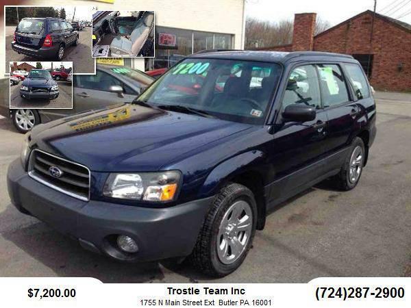 2005 Subaru Forester SUV X Sport Utility 4D
