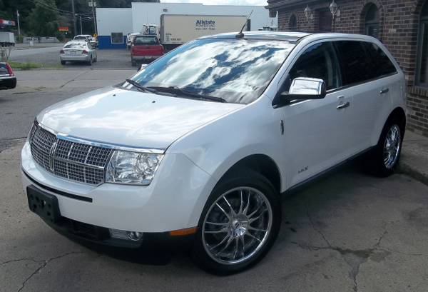 2010 Lincoln MKX AWD - Elite Edt. Low Miles Pearl White Every Option