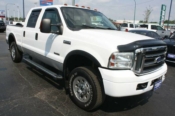 2006 Ford F250-Diesel, 4X4, Crew Cab, Long Bed