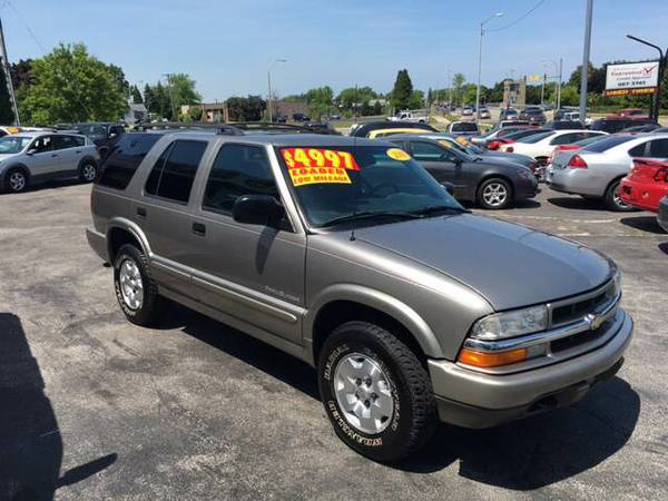 2000 CHEVROLET TRAILBLAZER 4X4