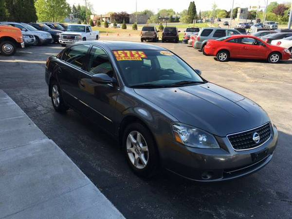 2005 NISSAN ALTIMA 2.5 SL GUARANTEED CREDIT APPROVAL....