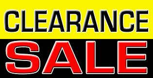 TRADE IN CLEARANCE SALE ....{{{{{{ WHOLESALE PRICES }}}}}}..........
