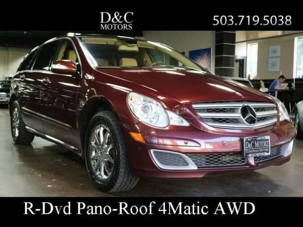 2007 *Mercedes-Benz* *R-Class* *R350 4Matic Dvd Nav* Wagon