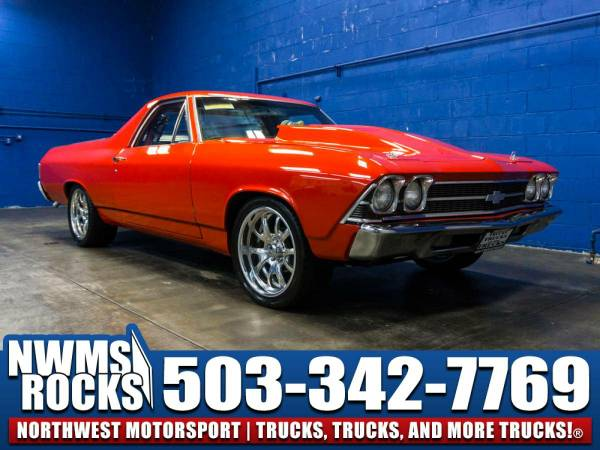 1969 *Chevrolet El Camino* RWD - CUSTOM BUILD! 1969 Chevrolet El...