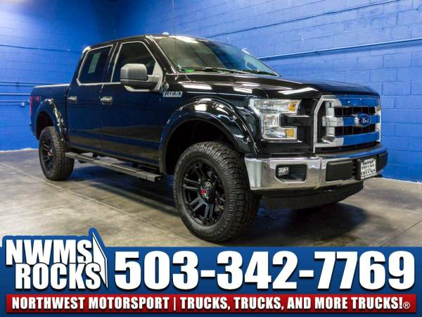 Lifted 2016 *Ford F150* XLT 4x4 - One-Owner 2016 Ford F-150 4x4 Truck