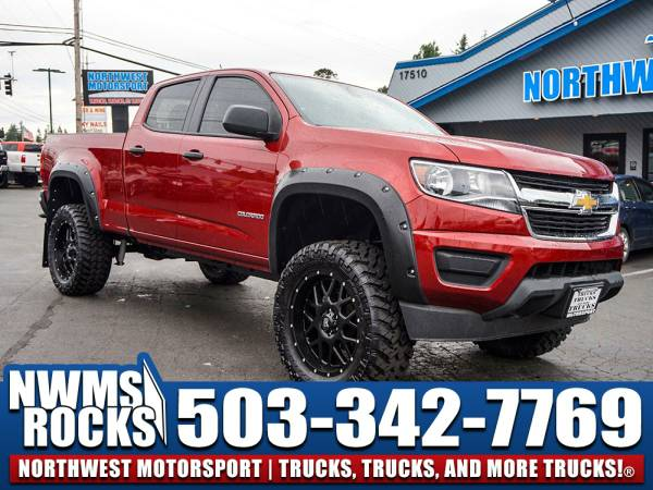 Lifted 2015 *Chevrolet Colorado* 4x4 - 2015 Chevrolet Colorado 4x4...