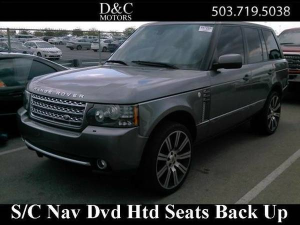 2011 *Land Rover* *Range* *Rover* *Supercharged R-Dvd Nav Back Up...