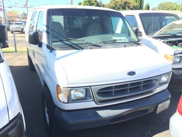 2001 Ford E150 Cargo Van V6 GAS SAVER CARFAX 1 OWNER&EASY FINANCING!