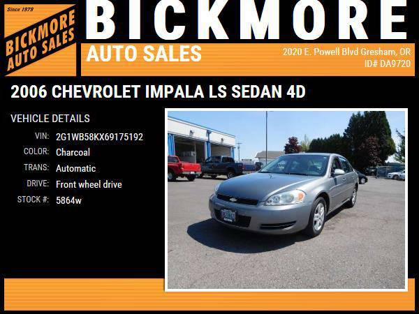2006 *Chevrolet* *Impala* *LS Sedan 4D*