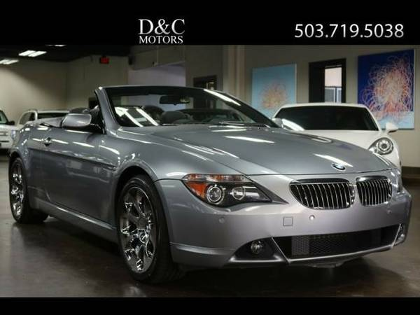 2005 *BMW* *6-Series* *645Ci Convertible Locally Owned* Convertible