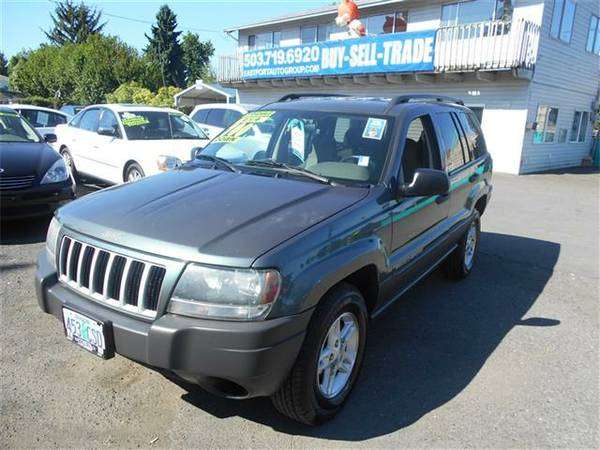 2004 Jeep Grand Cherokee 4x4 ! Low Miles! 4.0 6CYL!!