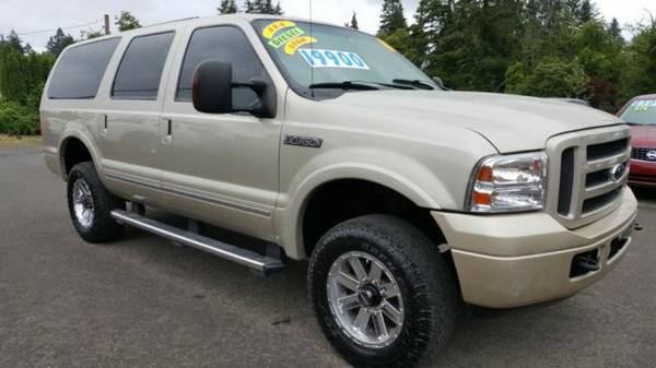 2005 *Ford Excursion* / 4x4 / Third Row / *POWERSTROKE* Turbo *DIESEL*