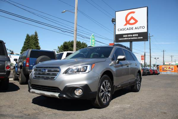 2016 SUBARU OUTBACK 2.5I LIMITED FULLY LOADED ALL OPTIONS AWD SUV GOLD