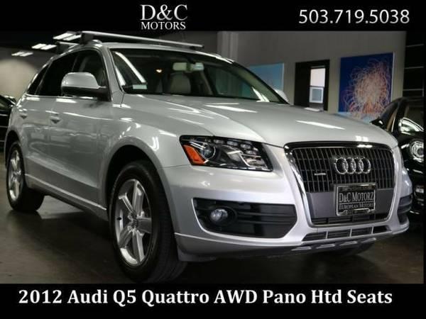 2012 *Audi* *Q5* *2.0T Quattro Premium + Htd Seats* SUV