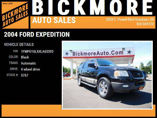 2004 *Ford* *Expedition* *XLT Sport Utility 4D*