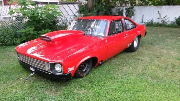 Used 1975 Chevrolet Nova DRAG