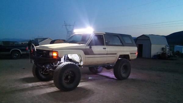 Built 1985 toyota 4runner crawler cash or trade