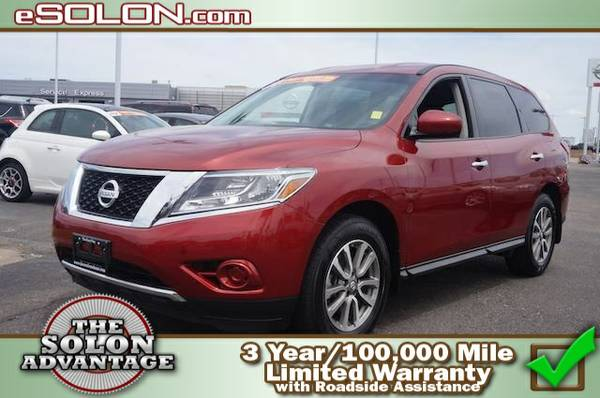 Certified: 2014 Nissan Pathfinder S - contact us at