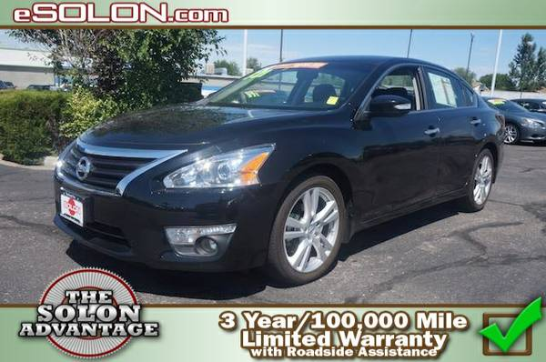 Certified: 2014 Nissan Altima 3.5 SL - contact us at   15,436 mi