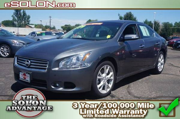 Certified: 2014 Nissan Maxima 3.5 SV - contact us at   4,808 mil