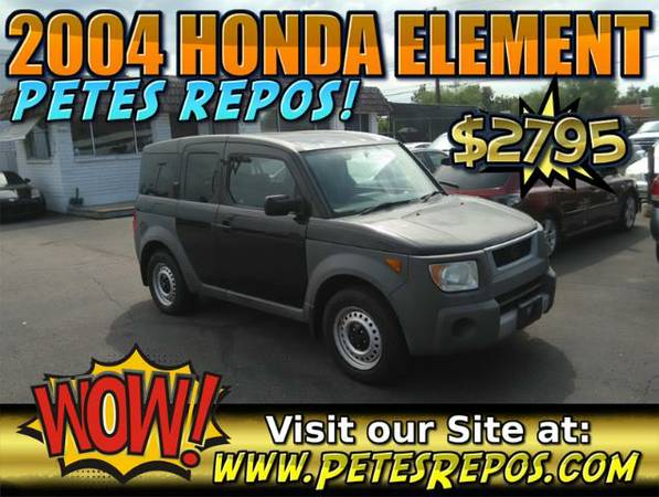 2004 Honda Element - Have a Look - Honda