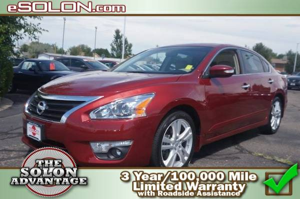 Certified: 2013 Nissan Altima 3.5 SL - contact us at   16,706 mi