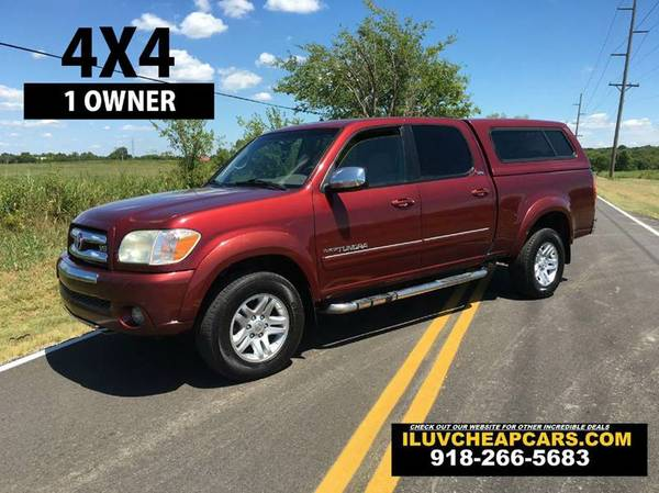 2006 TOYOTA TUNDRA - 1 OWNER - FULLY SERVICED - CREW CAB - 4X4