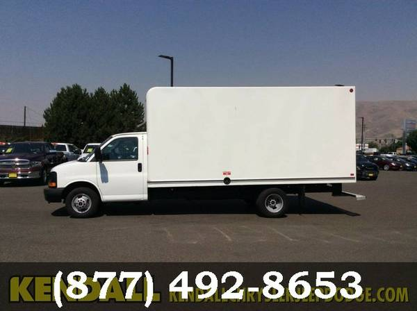 2015 GMC Savana Commercial Cutaway WHITE Current SPECIAL!!!