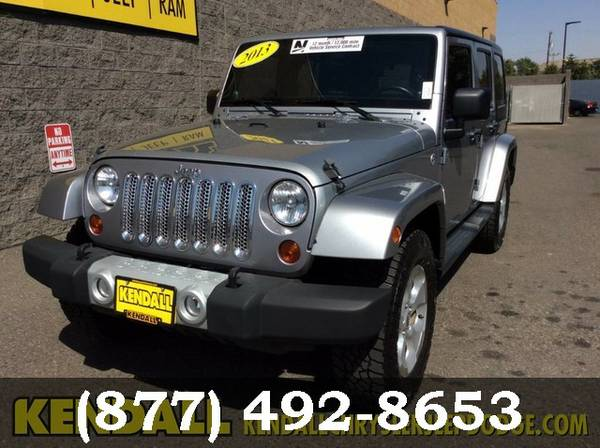 2013 Jeep Wrangler Unlimited SILVER LOW PRICE - Great Car!