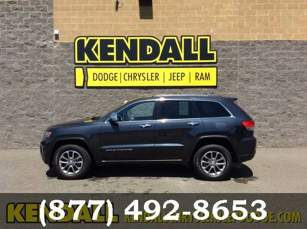2014 Jeep Grand Cherokee BLACK *Priced to Sell Now!!*