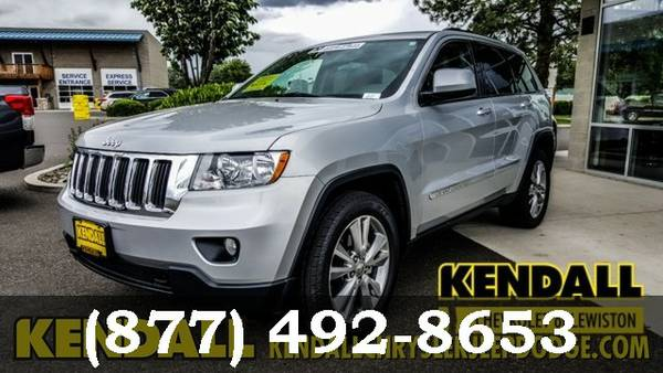 2013 Jeep Grand Cherokee STEEL GRAY FANTASTIC DEAL!