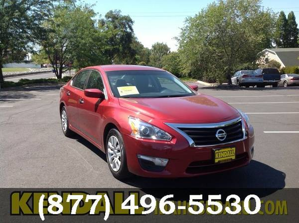 2015 Nissan Altima Cayenne Red Low Price..WOW!