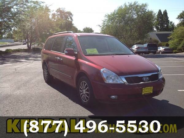 2012 Kia Sedona RED LOW PRICE....WOW!!!!
