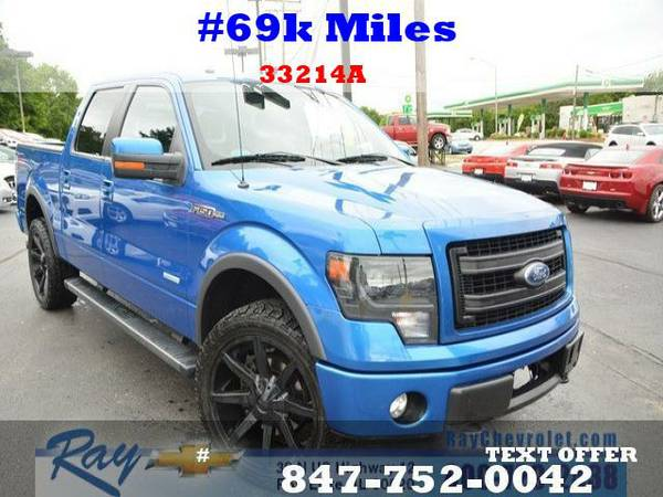 2013 Ford F-150 FX4 4D SuperCrew 69k Miles 4WD