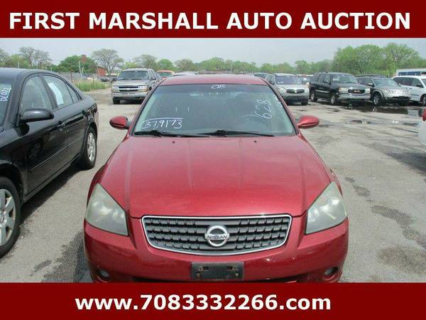 2005 Nissan Altima 2.5 4dr Sedan - First Marshall Auto Auction