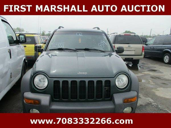 2002 Jeep Liberty Sport 4dr 4WD SUV - First Marshall Auto Auction