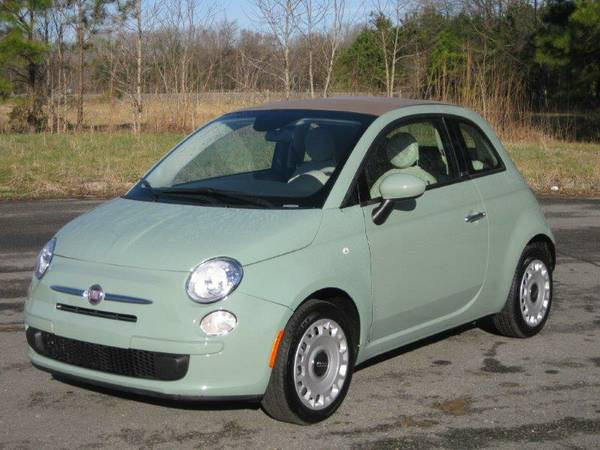 ------- 2013 Fiat 500c --------- Low Mileage! WEEKEND SPECIAL