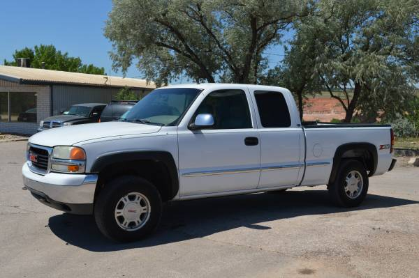 2001 GMC SIERRA 1500 Z71 LT LEATHER LOADED 4WD