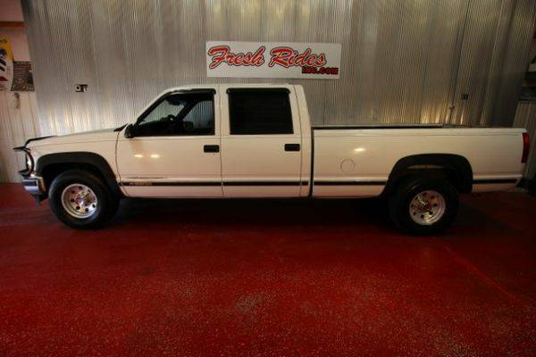 2000 *Chevrolet* *C/K* *3500* Crew Cab Long Bed 2WD - GET APPROVED...