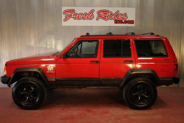 1996 *Jeep* *Cherokee* Sport 4-Door 4WD - GET APPROVED TODAY!!!!