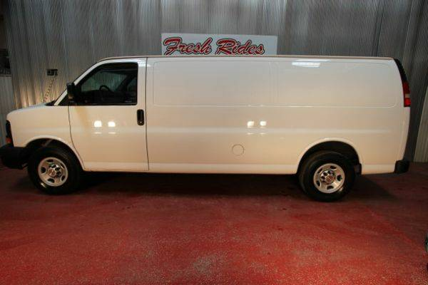2012 *Chevrolet* *Express* 3500 Cargo Extended - GET APPROVED...